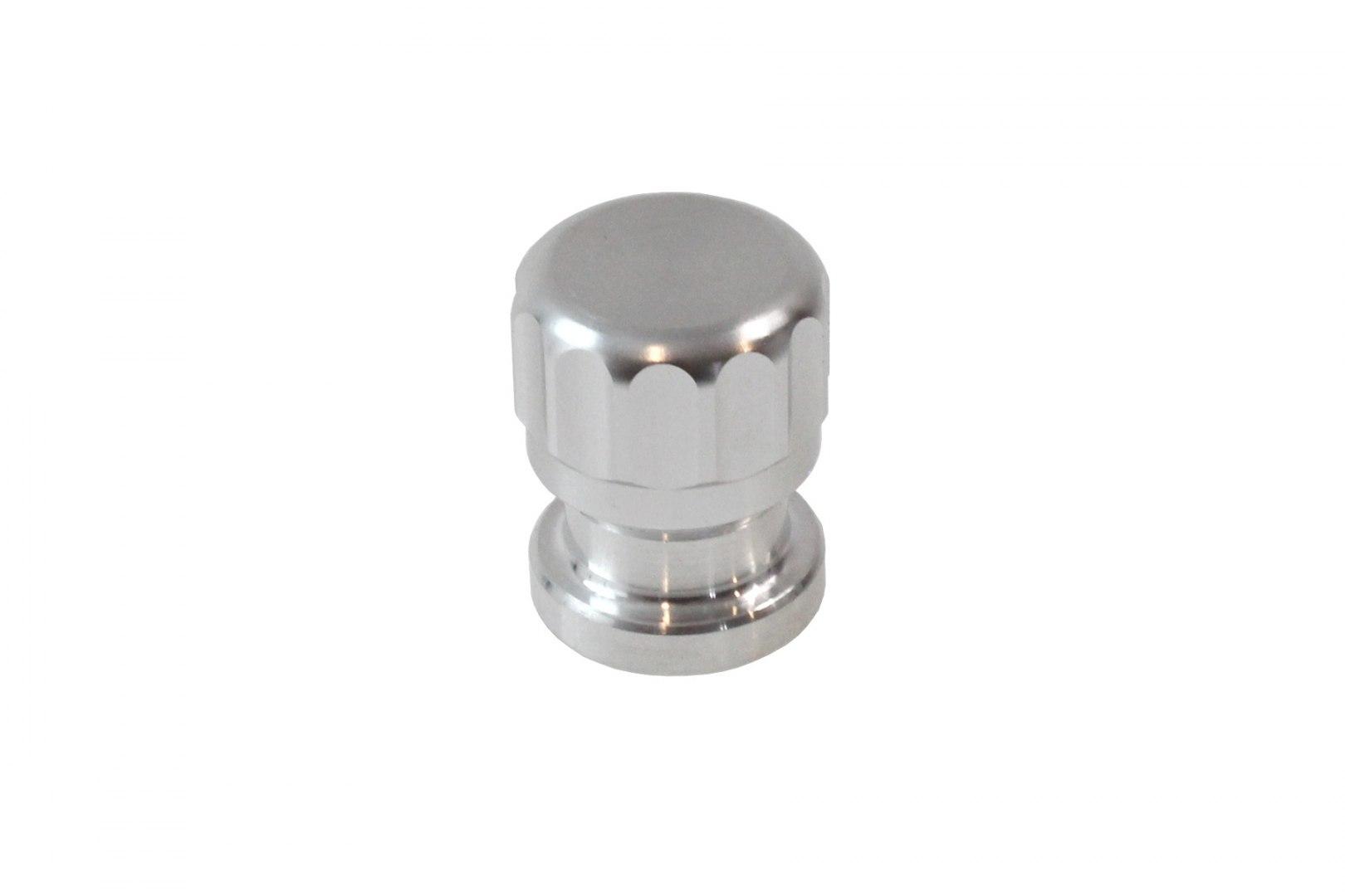 """Aluminiowy korek do wspawania 1.5"""" Srebrny - GRUBYGARAGE - Sklep Tuningowy"""